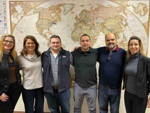 IEC Sales Growth team celebrates 2019 graduates!